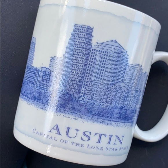 Austin Starbucks architecture collection mug